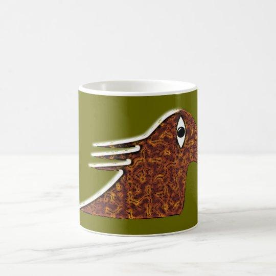 Bird monster bird coffee mug