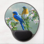 "Bird Mouse Pad<br><div class=""desc"">Two beautiful &quot;Love Birds&quot; sitting on this lovely gel mouse pad.</div>"