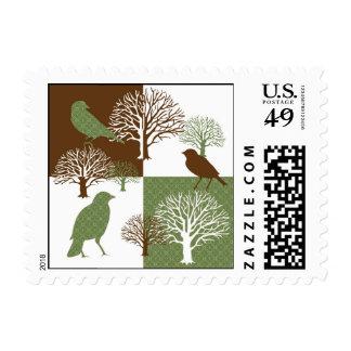 Bird & Nature Design2 Stamp