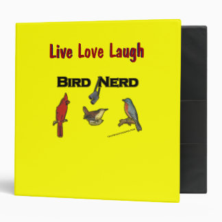 Bird Nerd 3 Ring Binder