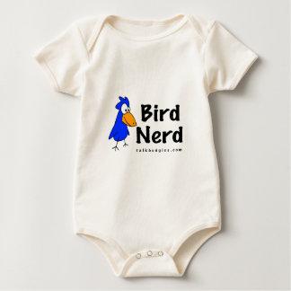 Bird Nerd Baby Bodysuit