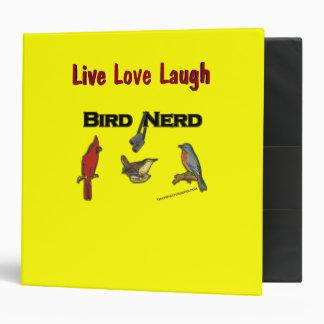 Bird Nerd Binders