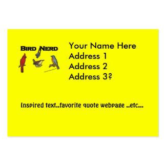 Bird Nerd Business Card Templates