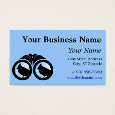 Bird Nerd Business Card at Zazzle