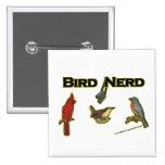 Bird Nerd Buttons