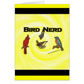 Bird Nerd Card