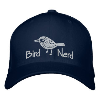 Bird Nerd [Embroidered] Embroidered Baseball Cap
