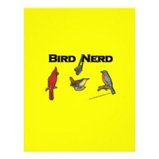 Bird Nerd Custom Flyer
