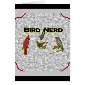 Bird Nerd Greeting Cards