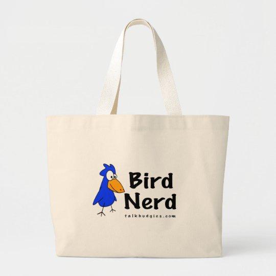Bird Nerd Large Tote Bag