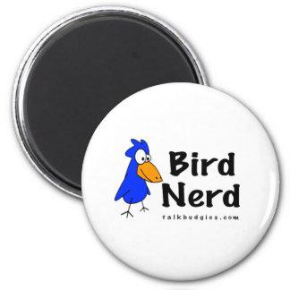 Bird Nerd 2 Inch Round Magnet