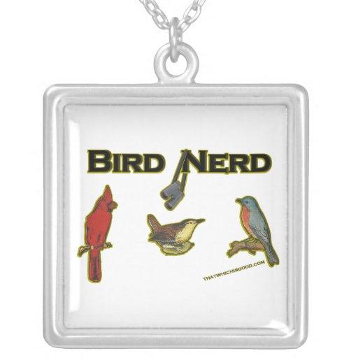 Bird Nerd Pendant