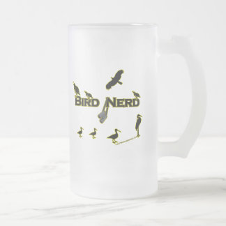 Bird Nerd Silhouette Coffee Mug