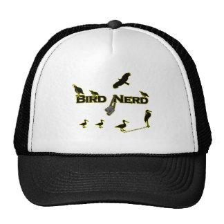 Bird Nerd Silhouette Trucker Hat