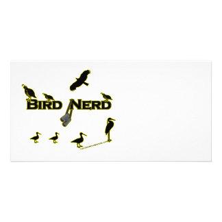 Bird Nerd Silhouette Photo Cards
