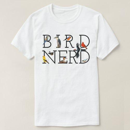 Bird Nerd T_Shirt
