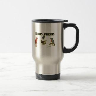 Bird Nerd Travel Mug