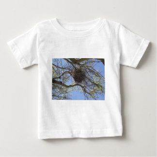 Bird Nest in Branches Baby T-Shirt