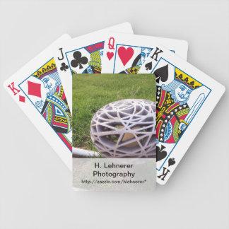 Bird Nest Light Bicycle Playing Cards