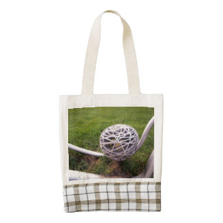 Bird Nest Light Zazzle HEART Tote Bag
