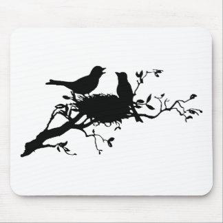 Bird Nest Mousepad