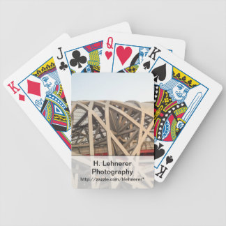 Bird Nest Stadium Bicycle Playing Cards