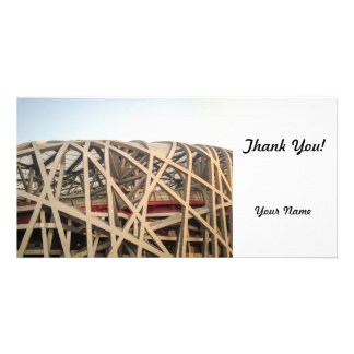 Bird Nest Stadium Card