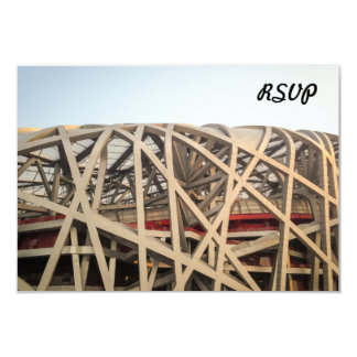 Bird Nest Stadium Card