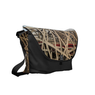 Bird Nest Stadium Courier Bag