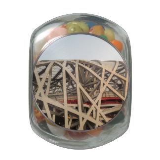 Bird Nest Stadium Jelly Belly Candy Jars