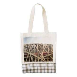 Bird Nest Stadium Zazzle HEART Tote Bag