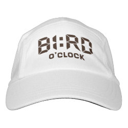 Knit Performance Hat with Bird O'Clock design