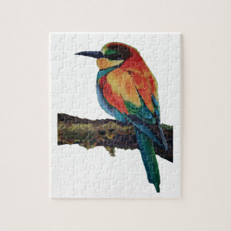 Bird of colors jigsaw puzzle
