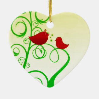 Bird of Faith ! Ceramic Ornament