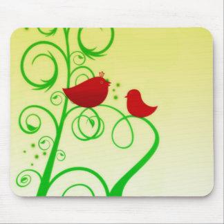 Bird of Faith Mouse Pad