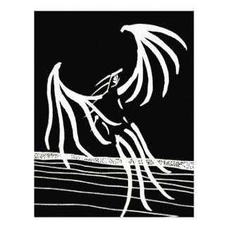 Bird of Light - Dark Version Letterhead