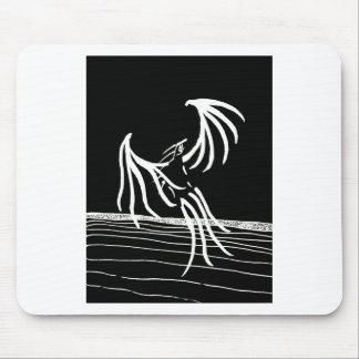 Bird of Light - Dark Version Mouse Pad