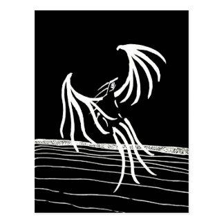 Bird of Light - Dark Version Postcard