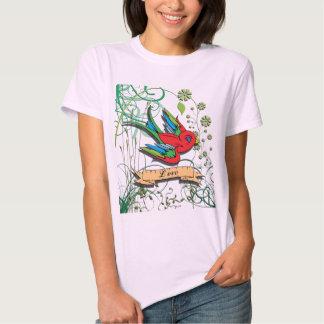 Bird of Love Tee Shirt