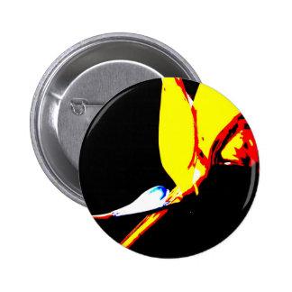 Bird Of Paradise 1 Pinback Button
