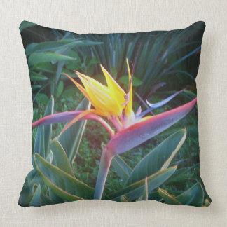 """*Bird of Paradise* 20""""x 20"""" Pillow"""
