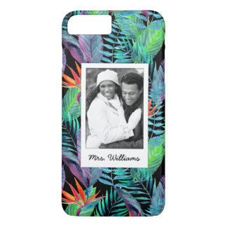 Bird Of Paradise | Add Your Photo & Name iPhone 7 Plus Case
