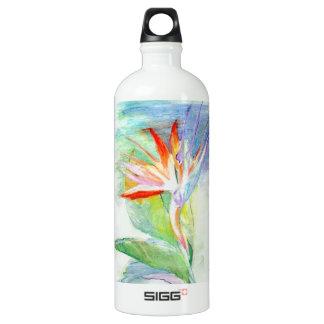 Bird of Paradise Aluminum Water Bottle