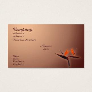 Bird of Paradise Business Card