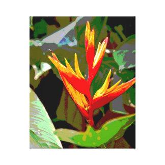Bird of Paradise Canvas Canvas Print