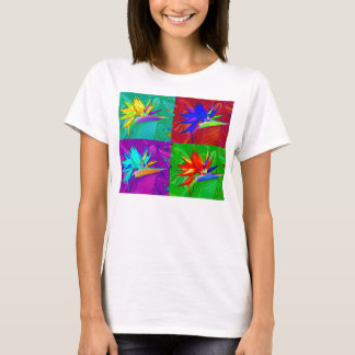 Bird of Paradise collage T-Shirt