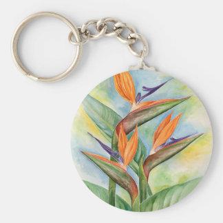 Bird Of Paradise Flower Art - Multi Key Chain