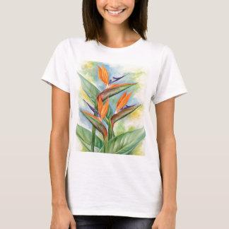 Bird Of Paradise Flower Art - Multi T-Shirt