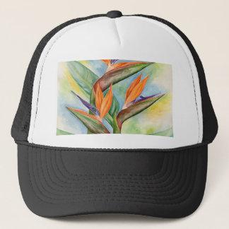Bird Of Paradise Flower Art - Multi Trucker Hat