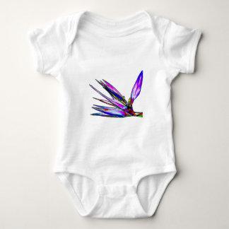 Bird of Paradise Flower (Colored Foil Effect) Baby Bodysuit